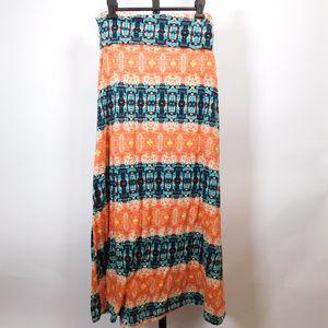 Lily Rose Women's Maxi Skirt M CL2443 1119